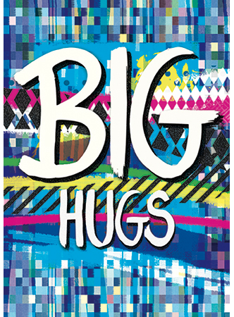 Greetings Card Big Hugs