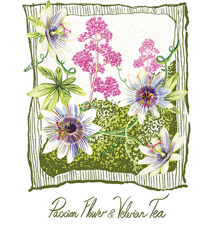 Passion Flower And Velerian Tea
