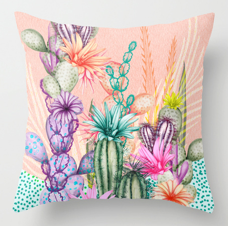 Pillow Cacti Love