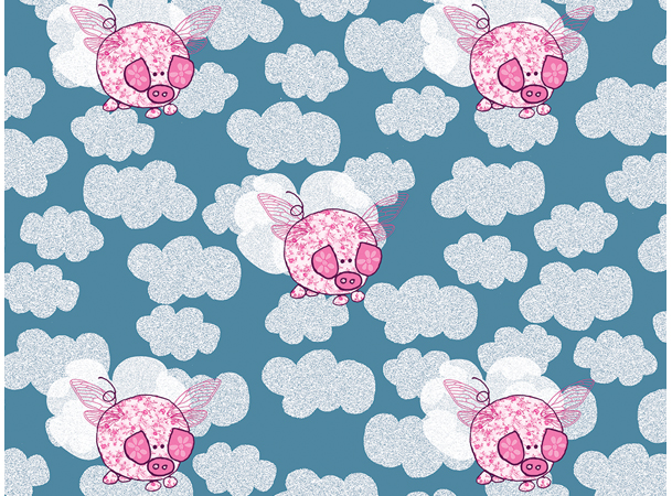 Surface Pattern Pigs Might Fly