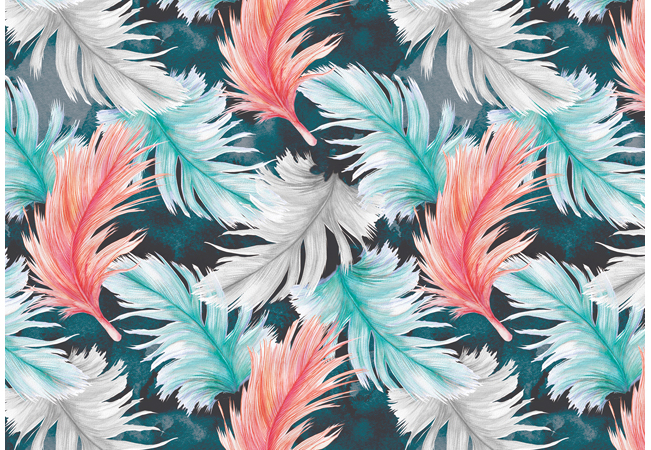 Surface Pattern Feathers