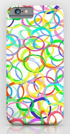 Surface Pattern Loominous iphone case
