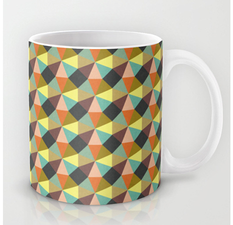 Surface Pattern Simply Symmetry mug