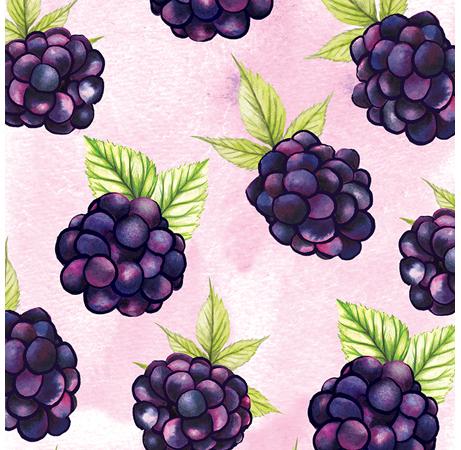 Blackberries Pattern