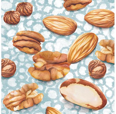 Nuts Food Pattern