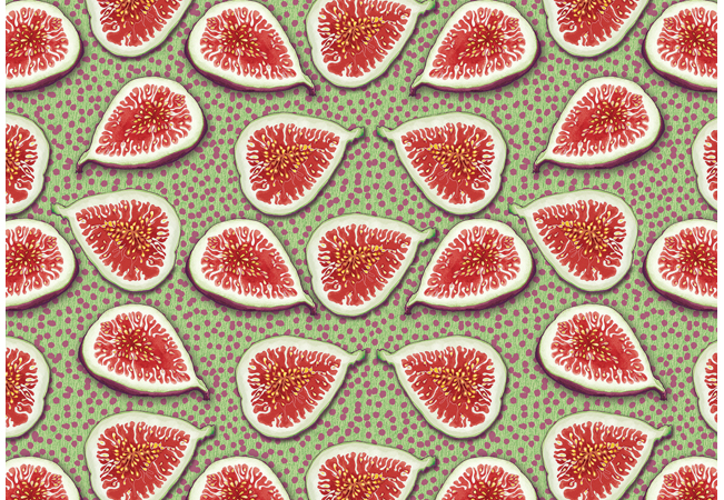Food Pattern Figs