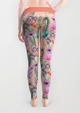 Cacti Love Leggings
