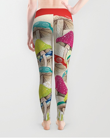 Leggings Magical Mushrooms
