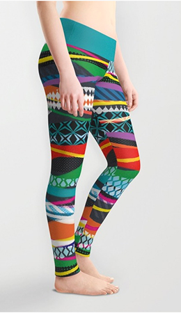 Leggings Wave Blaze
