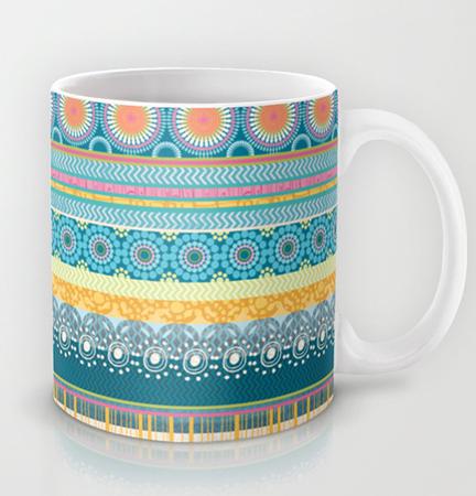 Mug Blue Streaks
