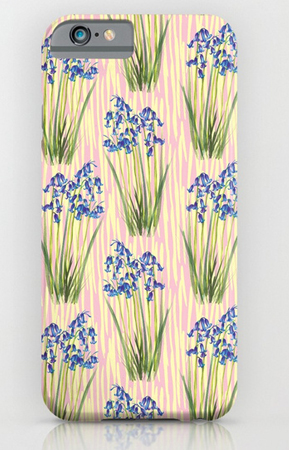 Phone Case Bluebell Meadow