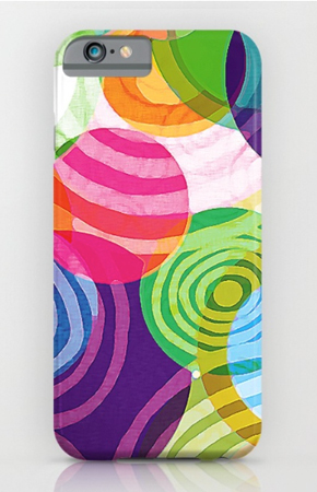 Phone Case design Circle-Vicious Sweetie pattern