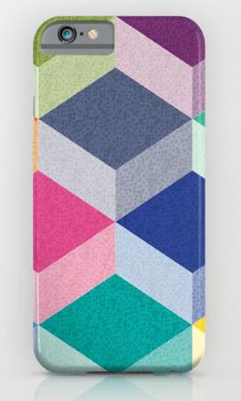 Phone Case design geometric pattern Cubism