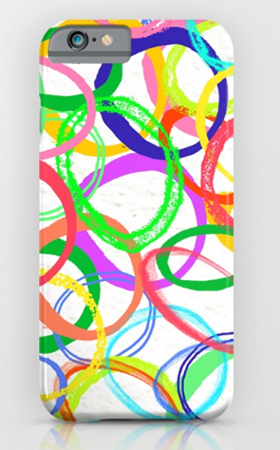 phone case pattern design circles