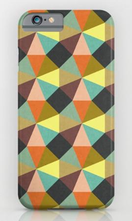 Phone Case artwork geometric pattern Simply Symmetry