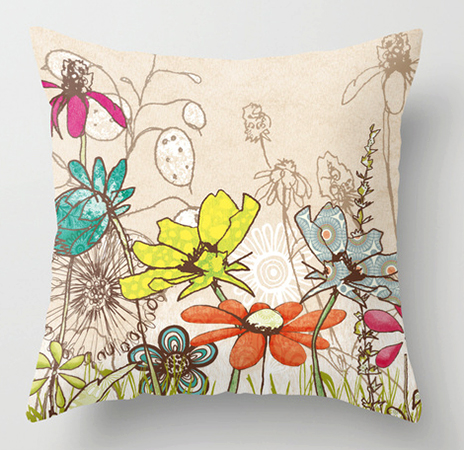 Pillow In Bloom