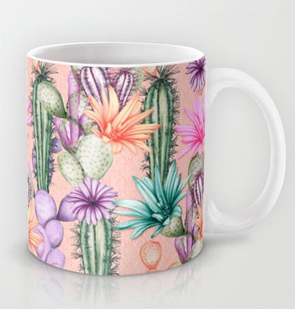 cacti love mug