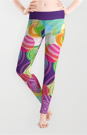 leggings circle-licious sweetie