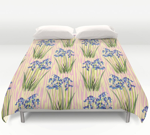 bluebell meadow Bedding