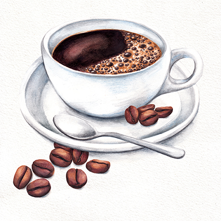 Coffee Cup food illustration
