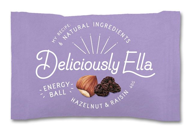 Food illustration Packaging Hazelnut And Raisin