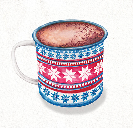 Hot Chocolate Food and drink illustration
