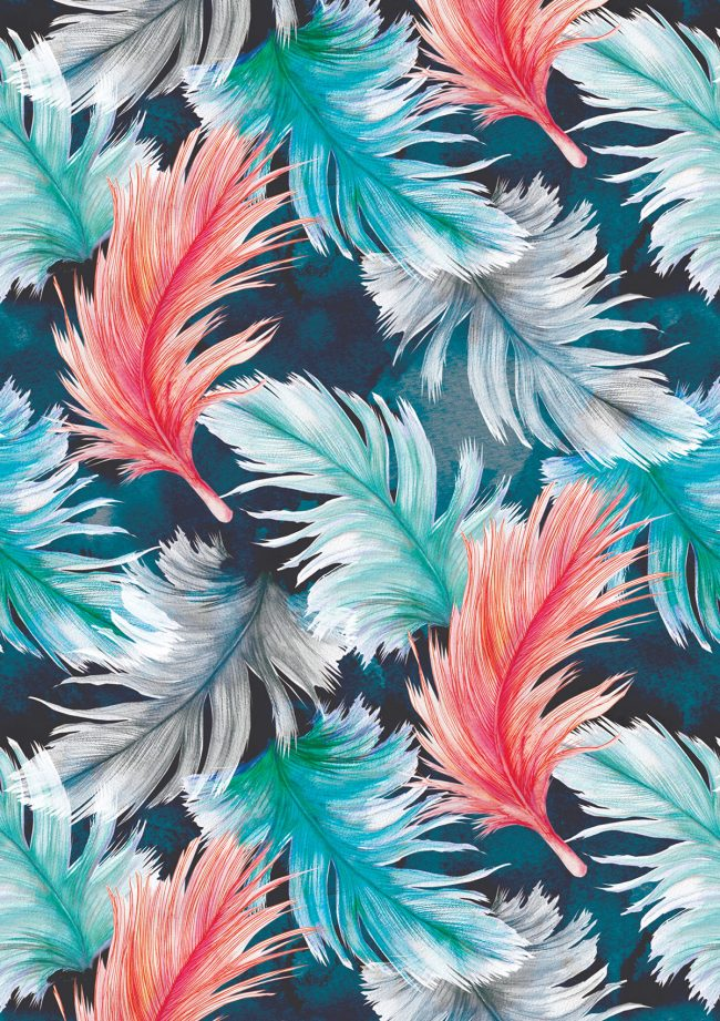 Feathers-pattern
