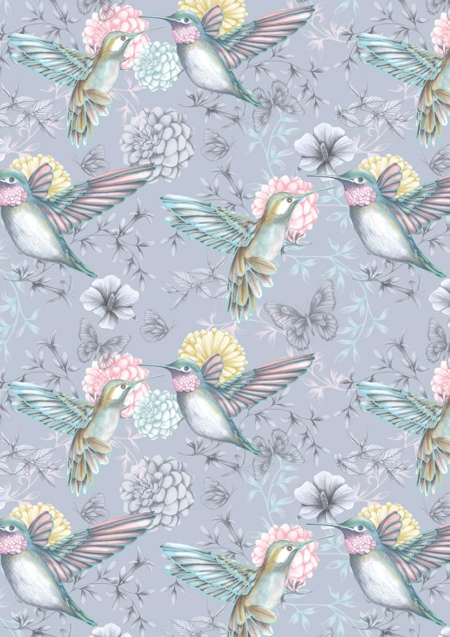 Hummingbirds-pattern