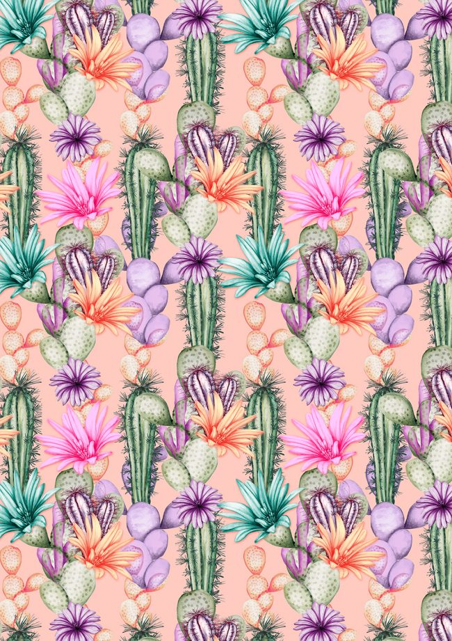 Tropical-desert-flowers-cactus-pattern