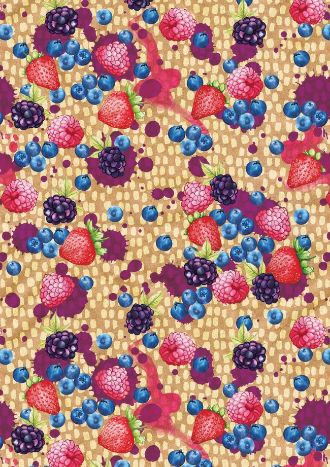 berries-food-pattern