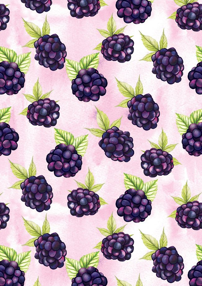 blackberries-food-pattern