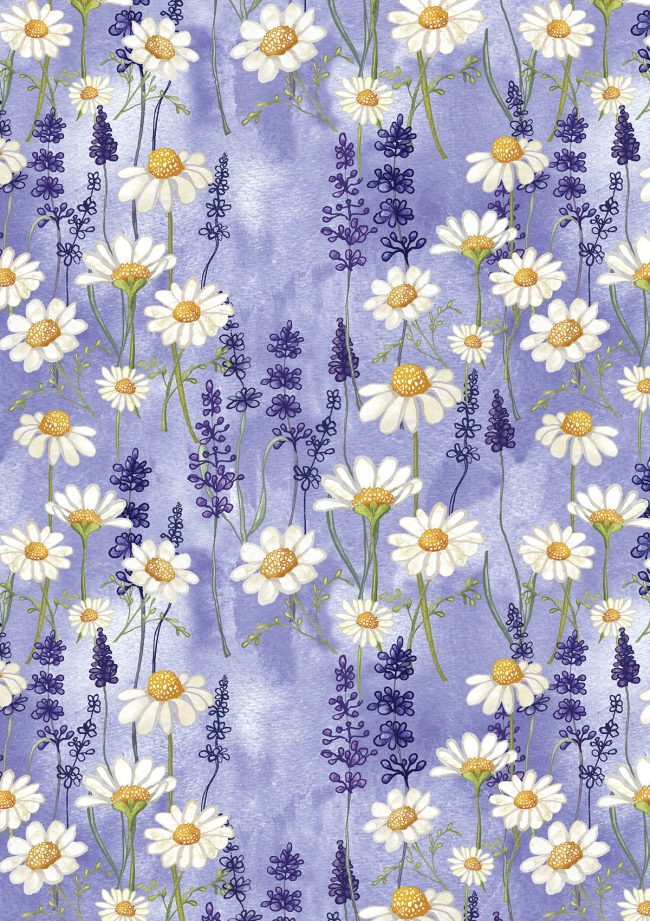 chamomile-and-lavender-flowers-herbs-pattern herbal life relax