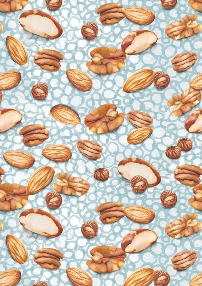 nuts-food-pattern