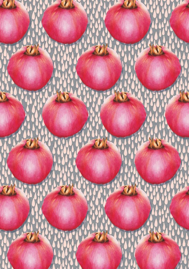pomegranate-food-pattern