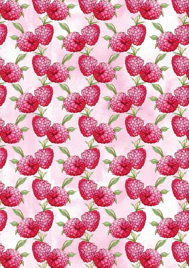 raspberries-food-pattern