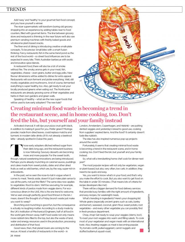 editorial-food-illustration-kimchi-probiotic-healthy-eating gut health
